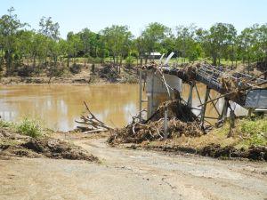 swollen Burnett River