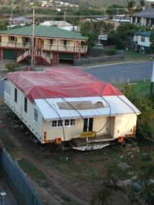 House ready for removal in Gladstone. Image B. Roper