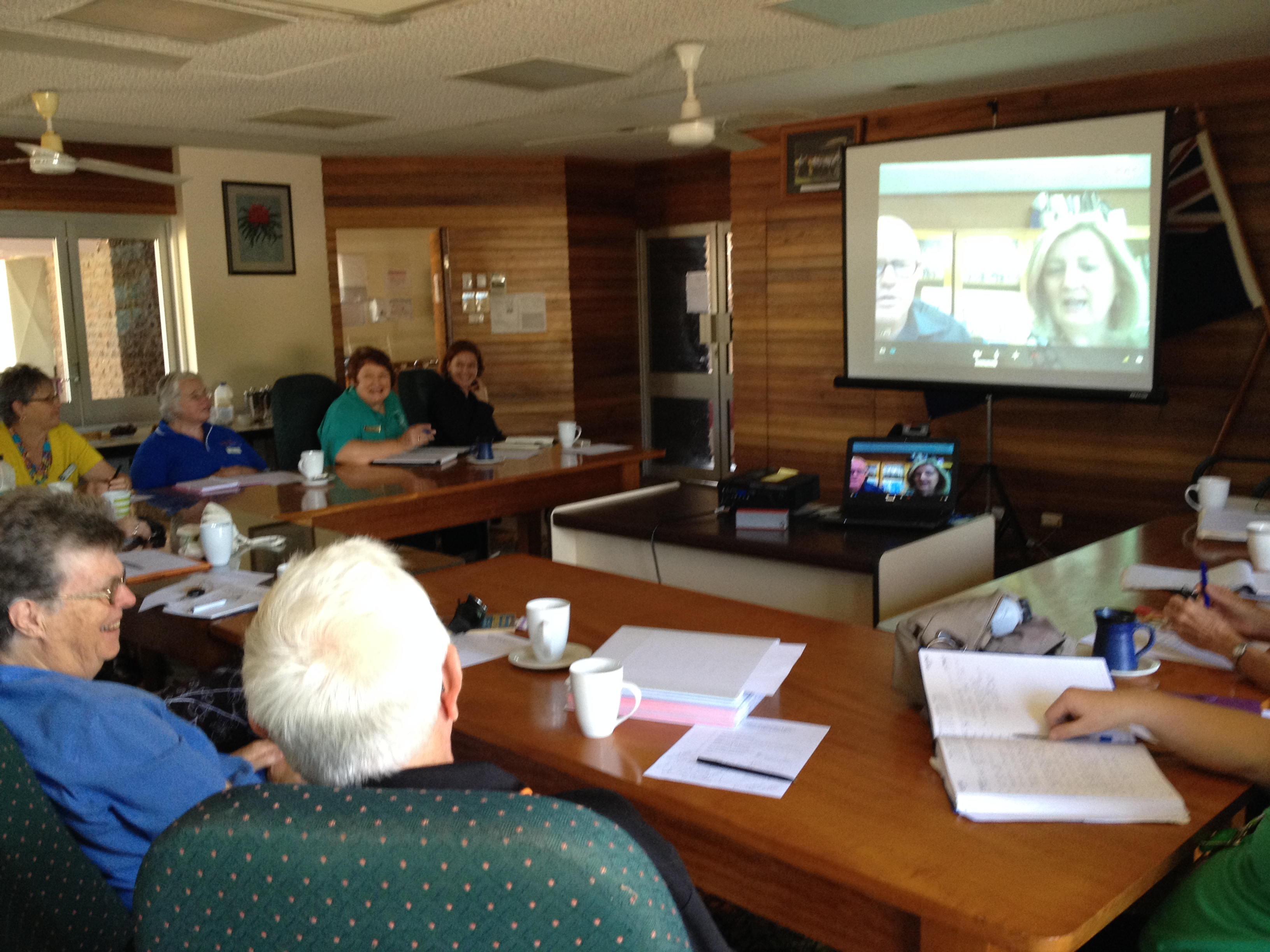 Now and THeN … using Skype to link community museums and