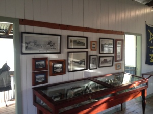 Displays at Cape York Heritage House, Coen