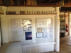 Telegraph Station Displays at Cape York Heritage House, Coen