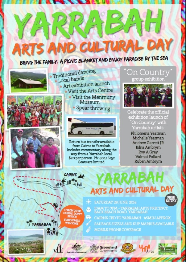 Yarrabah Arts and Cultural Day, June 2014.