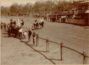 Trial starts, Tambo c.1890 Image courtesy of Charmaine Bailey