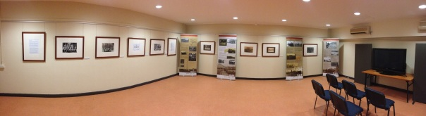 Photographic exhibition at Army Museum of North Queensland, Townsville.