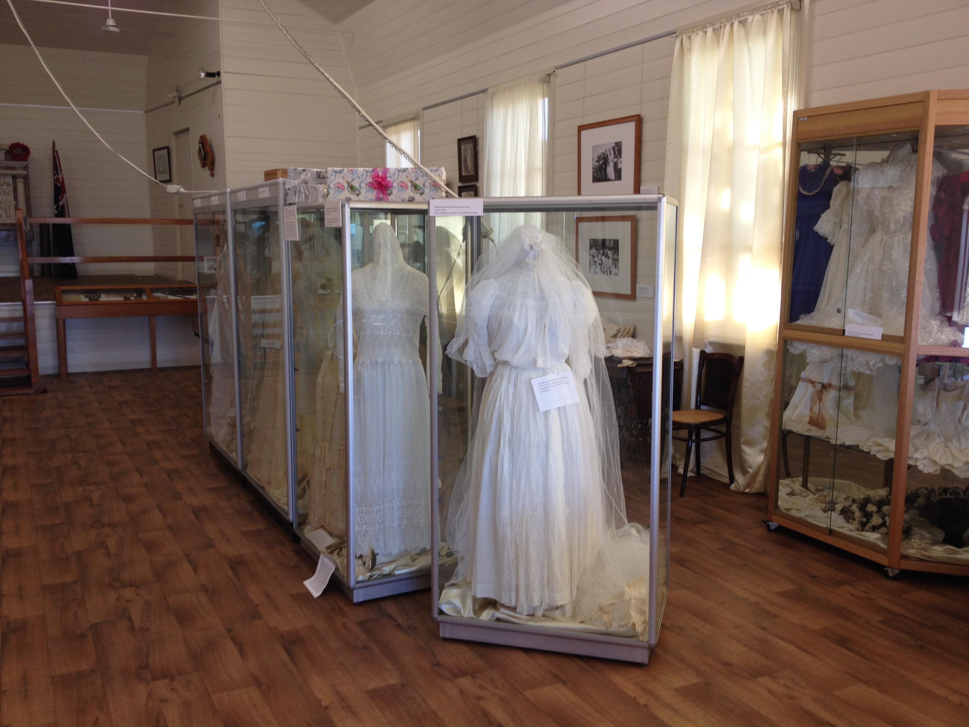 Wedding Dress Display