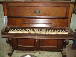 Mrs Langenbaker's piano