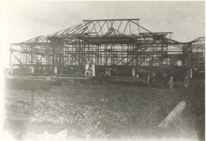 Greenmount under construction in 1915.