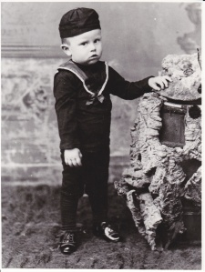 William Fryer as a child