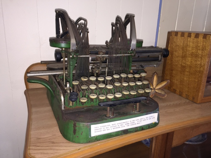 Oliver typewriter at Dayboro Historical Society Museum