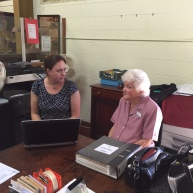 interviewing volunteers regarding Bowen's industries that were operating throughout the First World War