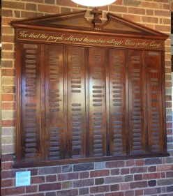 Cooktown Honour Board, Collection: James Cook Museum, Cooktown. Photo: Jo Wills.