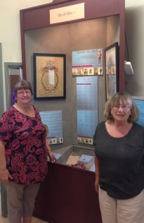Bev Shay and Marge Scully, Cooktown History Centre, 2015. Photo: Jo Wills.