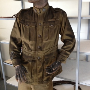 Martyr tunic before conservation.