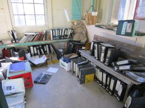 Salvaged files stored in Chorregon Station