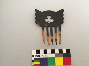 hair comb turtle shell two (2)