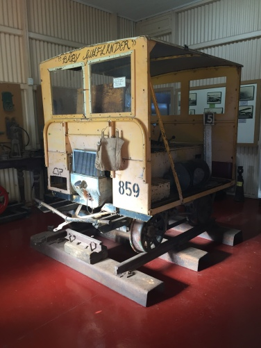Baby Gulflander, at Normanton Railway Station Museum