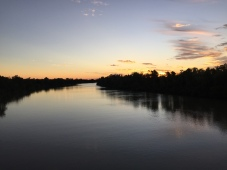Albert River sunset