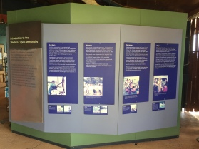 Displays at the Western Cape Cultural Centre