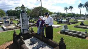 Performers from Ghosts of Gordonvale Cemetery. Image: Mulgrave Setters Museum