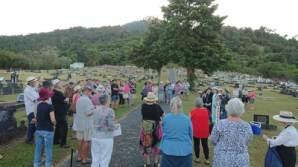 Audience at the Ghosts of Babinda Cemetery. Image: Mulgrave Setters Museum