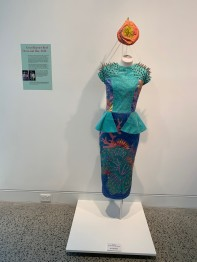 Cairns' designer, Grace Lillian Lee's Great Barrier Reef dress.