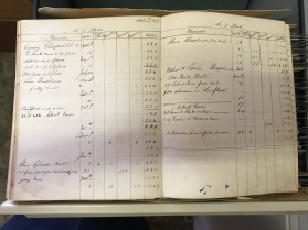 This 1860s flock book from Prairie Station in the Greycliffe collection is historically significant for its association with one of the earliest properties in the area, but also has research significance.