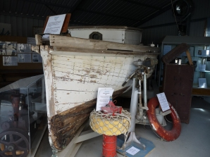'Eleanor' on display at the Mackay Museum. Images courtesy of Mackay Museum.