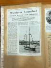 1928 Australian Motor Boat & Yachting Monthly article on the launch of 'Wanderer'