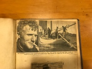 Newspaper clipping showing 'Wanderer' returning to Sydney with a broken rudder following an unsuccessful search for the missing 'Viking'